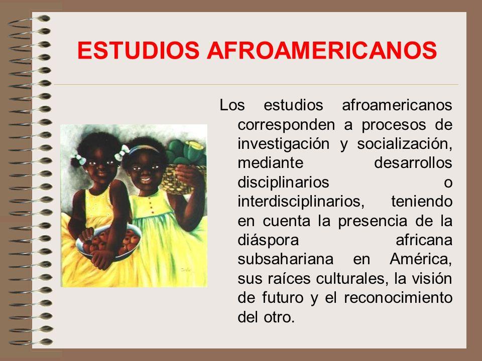 ESTUDIOS AFROAMERICANOS