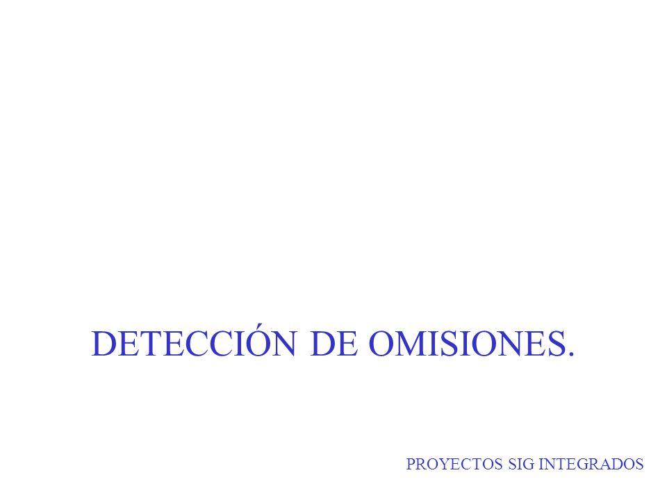 DETECCIÓN DE OMISIONES.