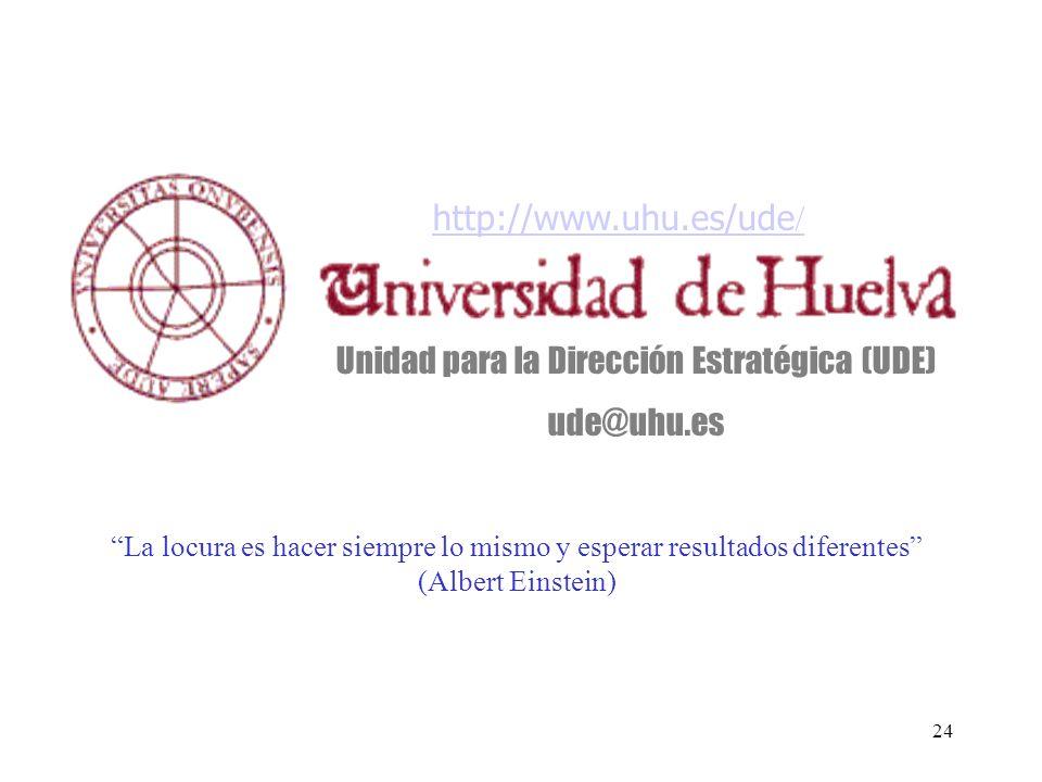 Unidad para la Dirección Estratégica (UDE)
