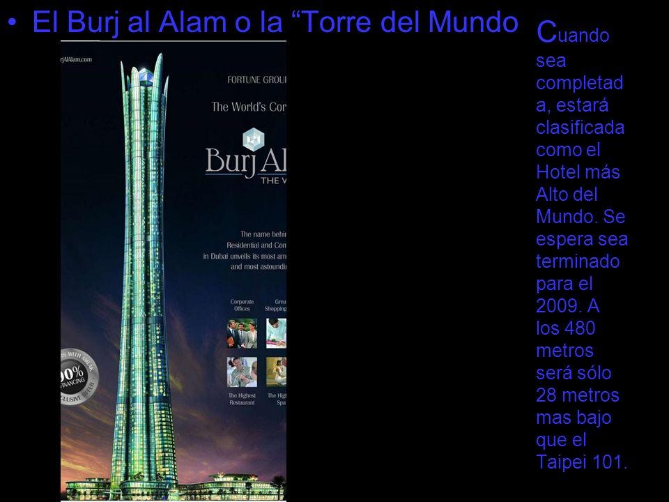 El Burj al Alam o la Torre del Mundo