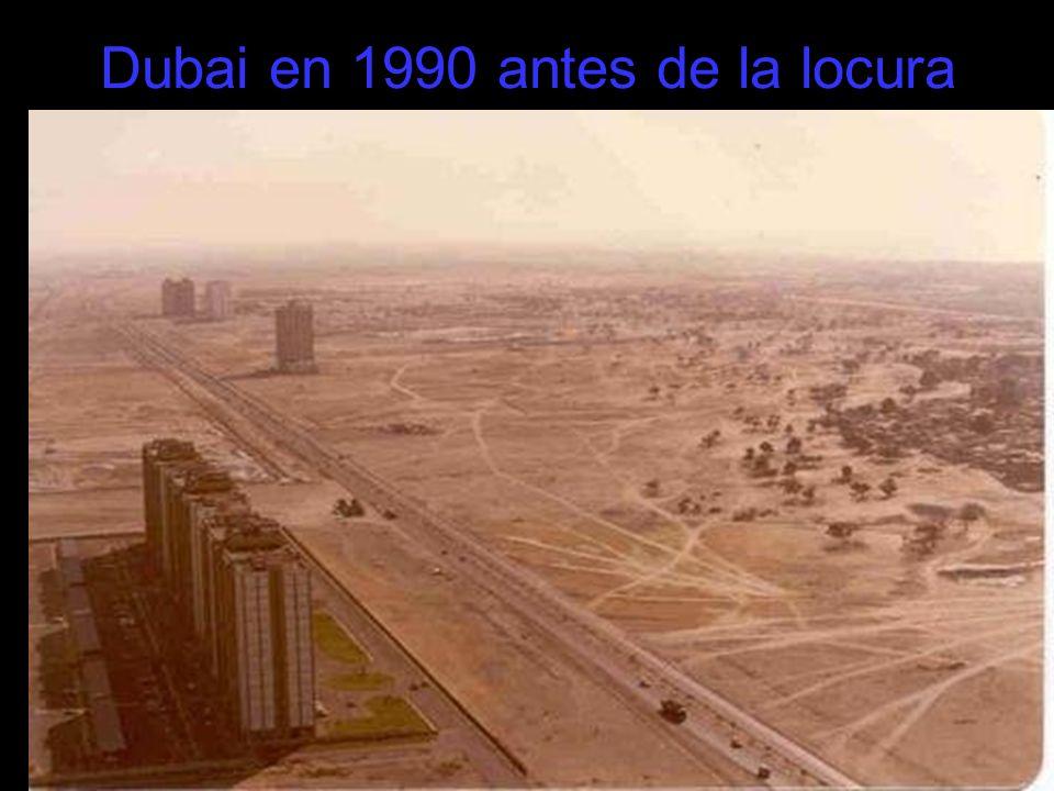 Dubai en 1990 antes de la locura