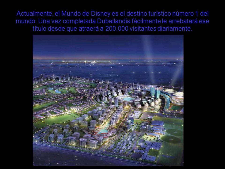 Actualmente, el Mundo de Disney es el destino turístico número 1 del mundo.