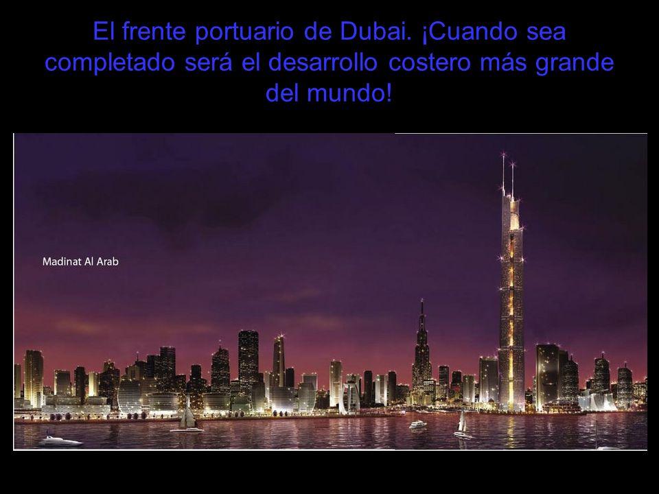 El frente portuario de Dubai