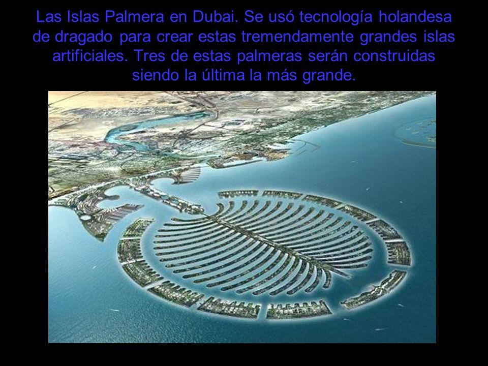 Las Islas Palmera en Dubai
