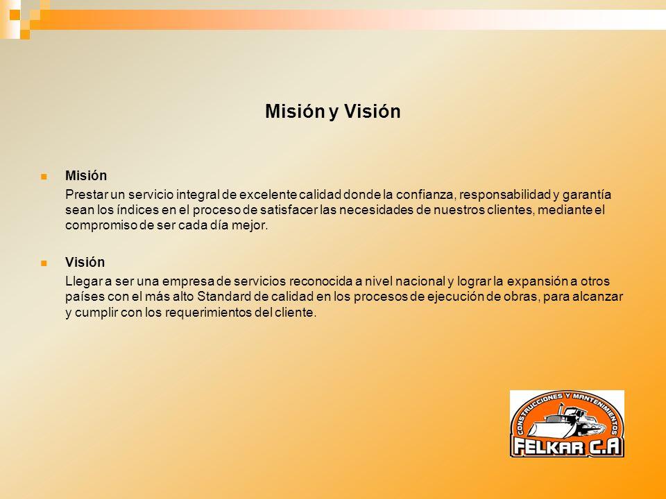Misión y Visión. Misión.
