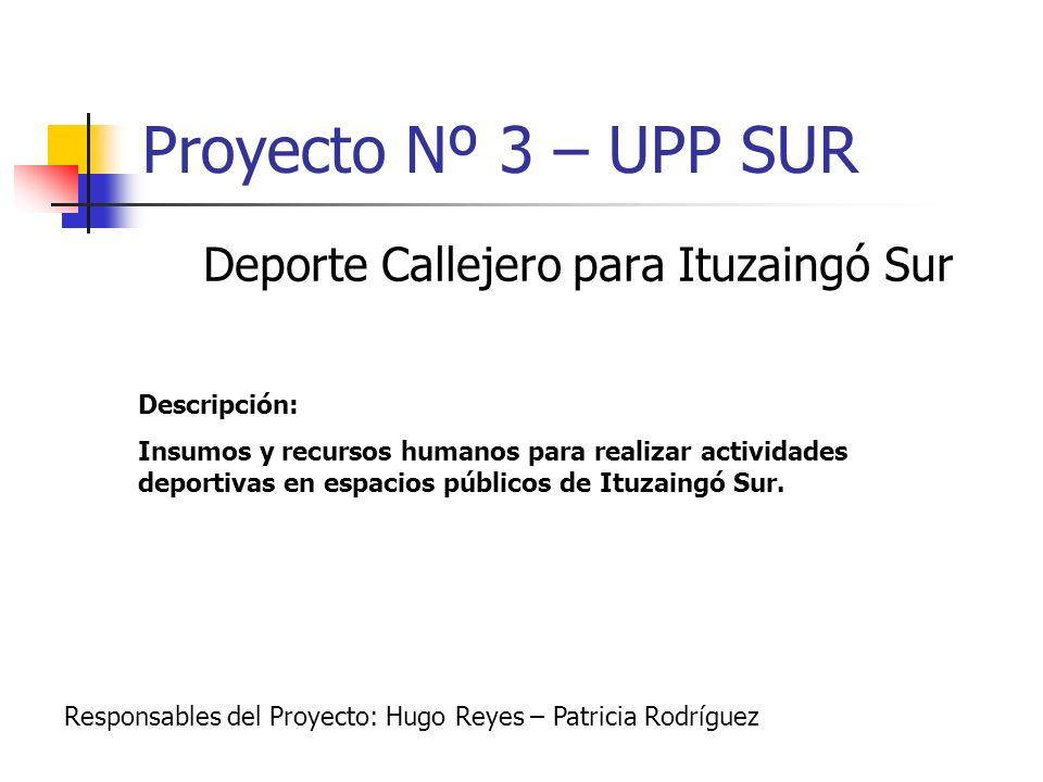 Deporte Callejero para Ituzaingó Sur