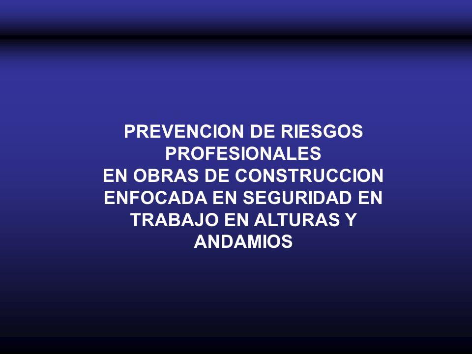 PREVENCION DE RIESGOS PROFESIONALES