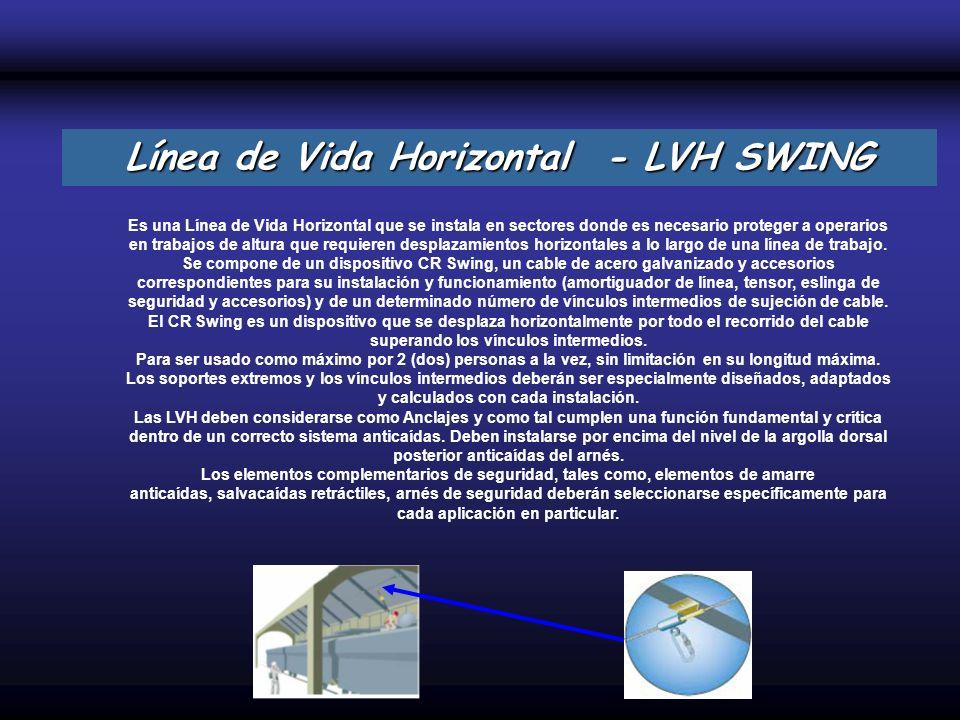 Línea de Vida Horizontal - LVH SWING
