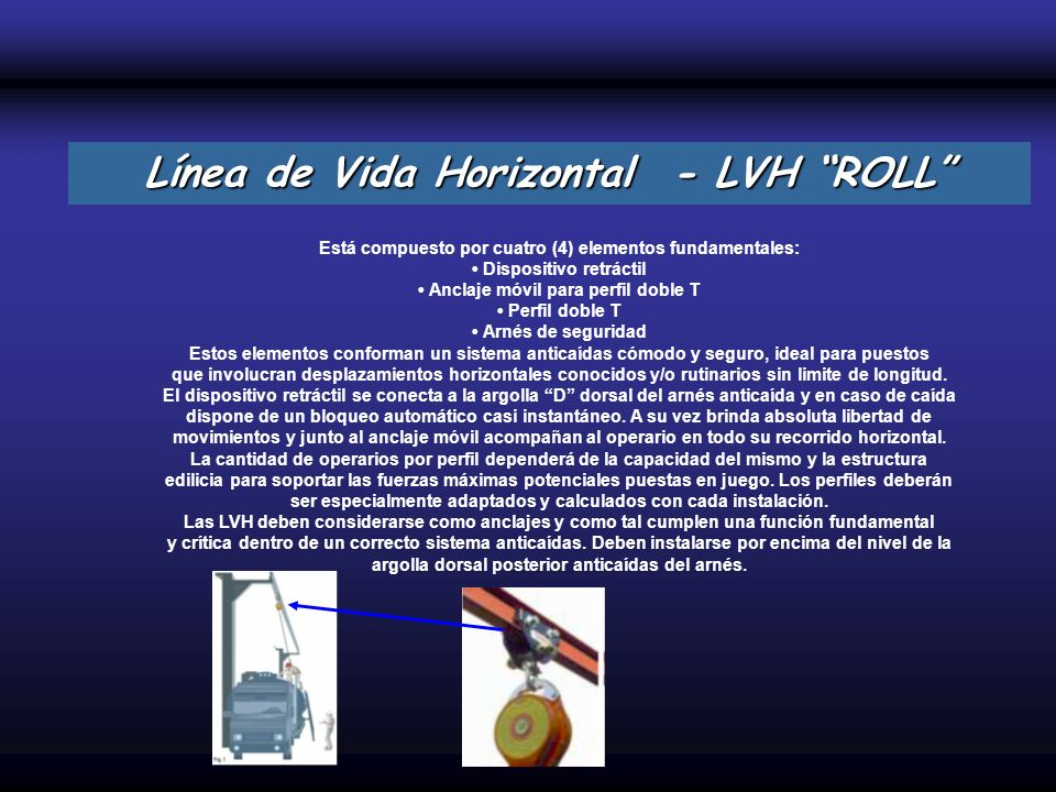 Línea de Vida Horizontal - LVH ROLL