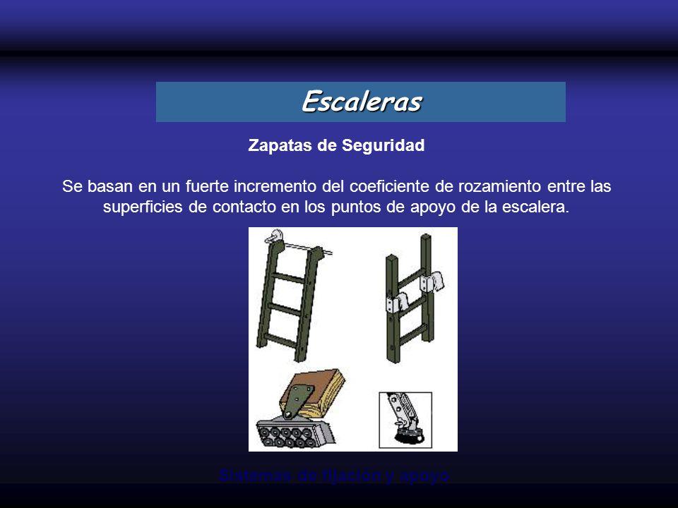 Escaleras Zapatas de Seguridad