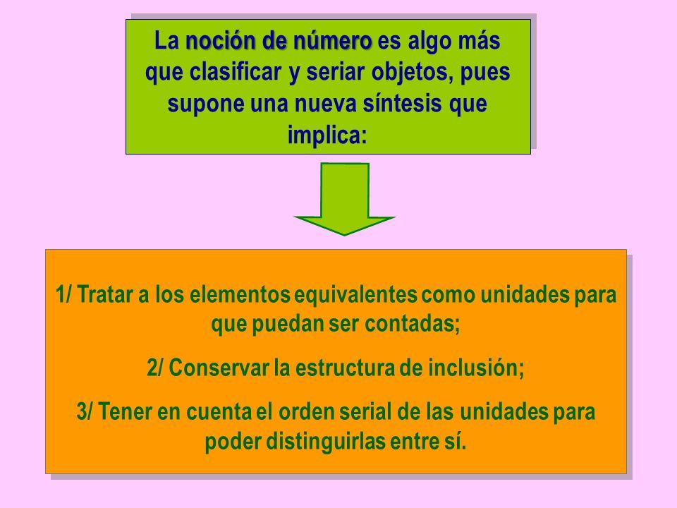 2/ Conservar la estructura de inclusión;