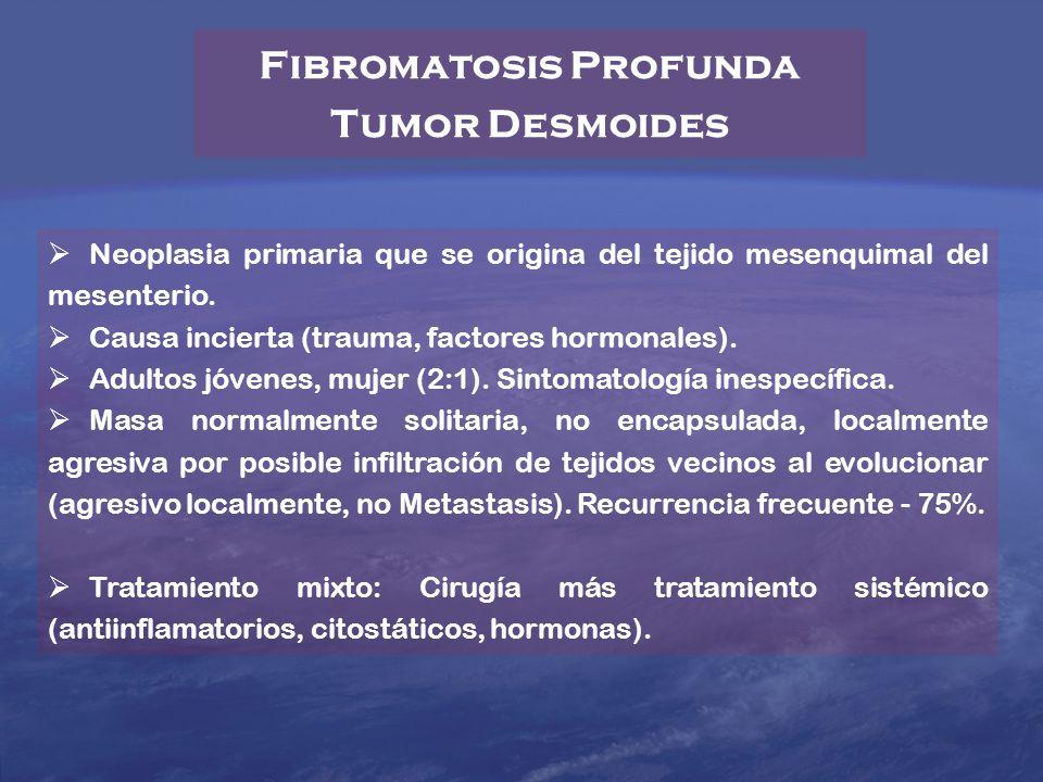 Fibromatosis Profunda