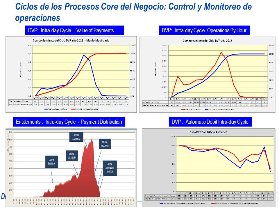 Ciclos de los Procesos Core del Negocio: Control y Monitoreo de operaciones