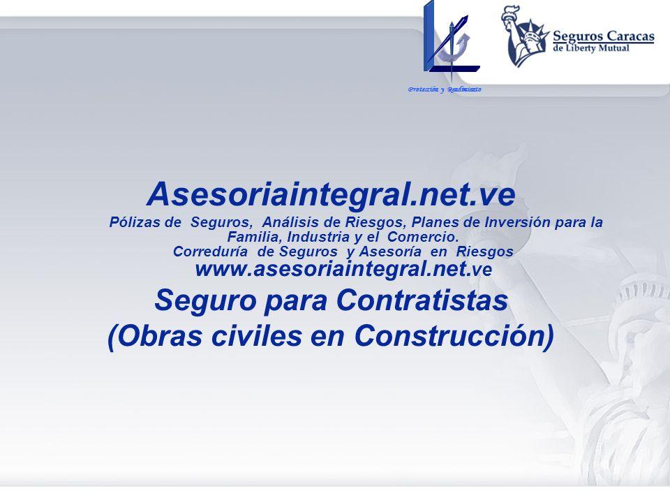 Seguro para Contratistas (Obras civiles en Construcción)
