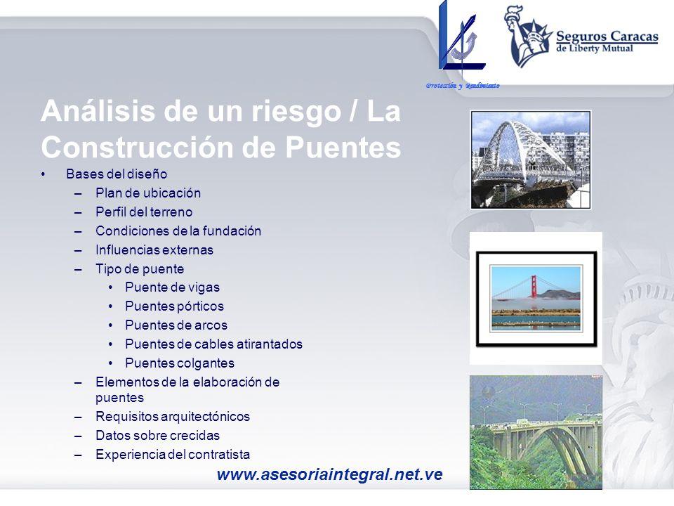 Análisis de un riesgo / La Construcción de Puentes