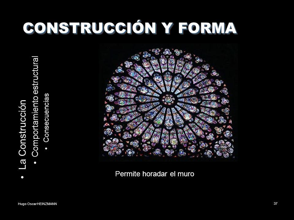 CONSTRUCCIÓN Y FORMA La Construcción Comportamiento estructural