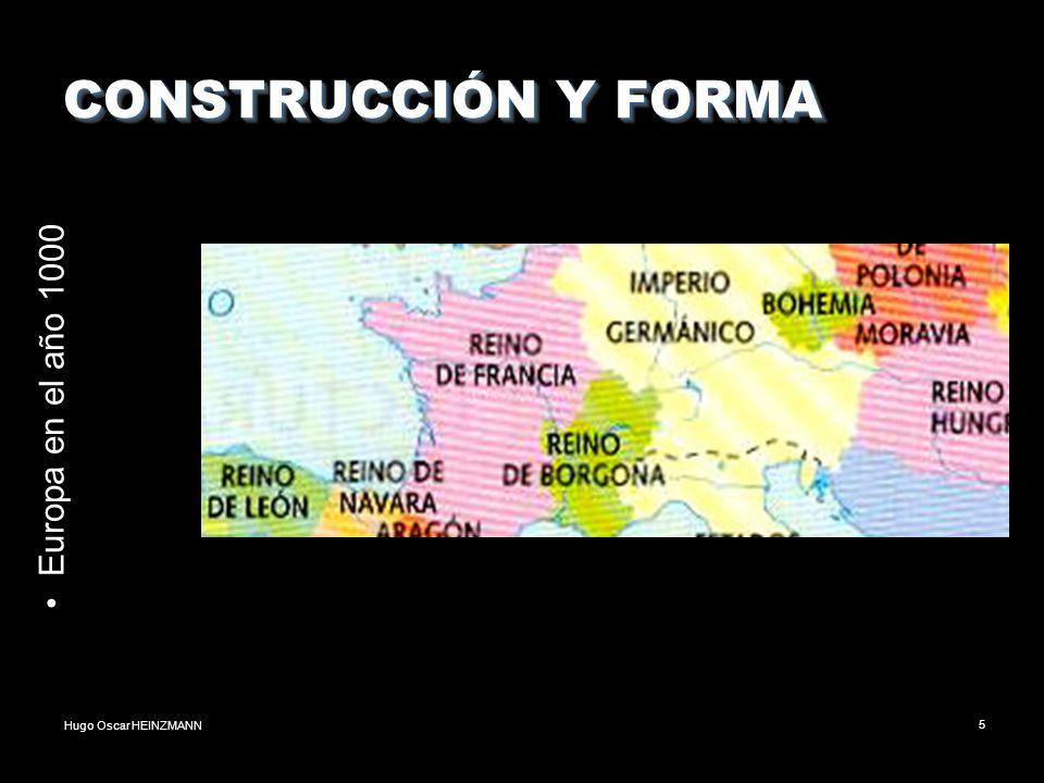 CONSTRUCCIÓN Y FORMA Europa en el año 1000