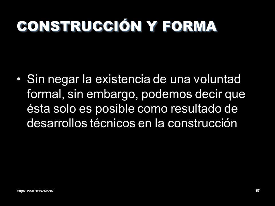 CONSTRUCCIÓN Y FORMA