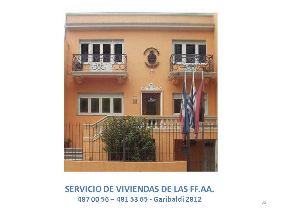 SERVICIO DE VIVIENDAS DE LAS FF.AA.