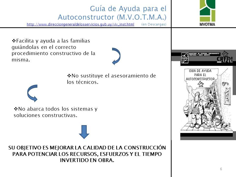 Guía de Ayuda para el Autoconstructor (M.V.O.T.M.A.)
