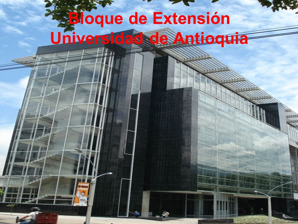 Bloque de Extensión Universidad de Antioquia