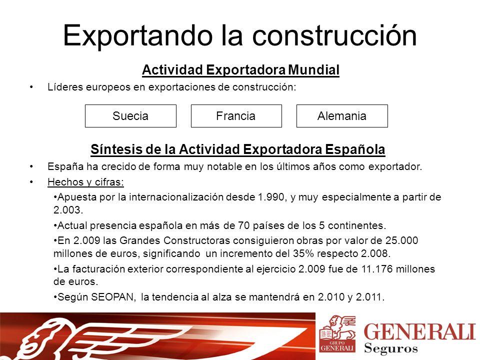 Exportando la construcción