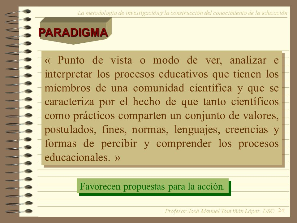 PARADIGMA La metodología de investigación y la construcción del conocimiento de la educación.