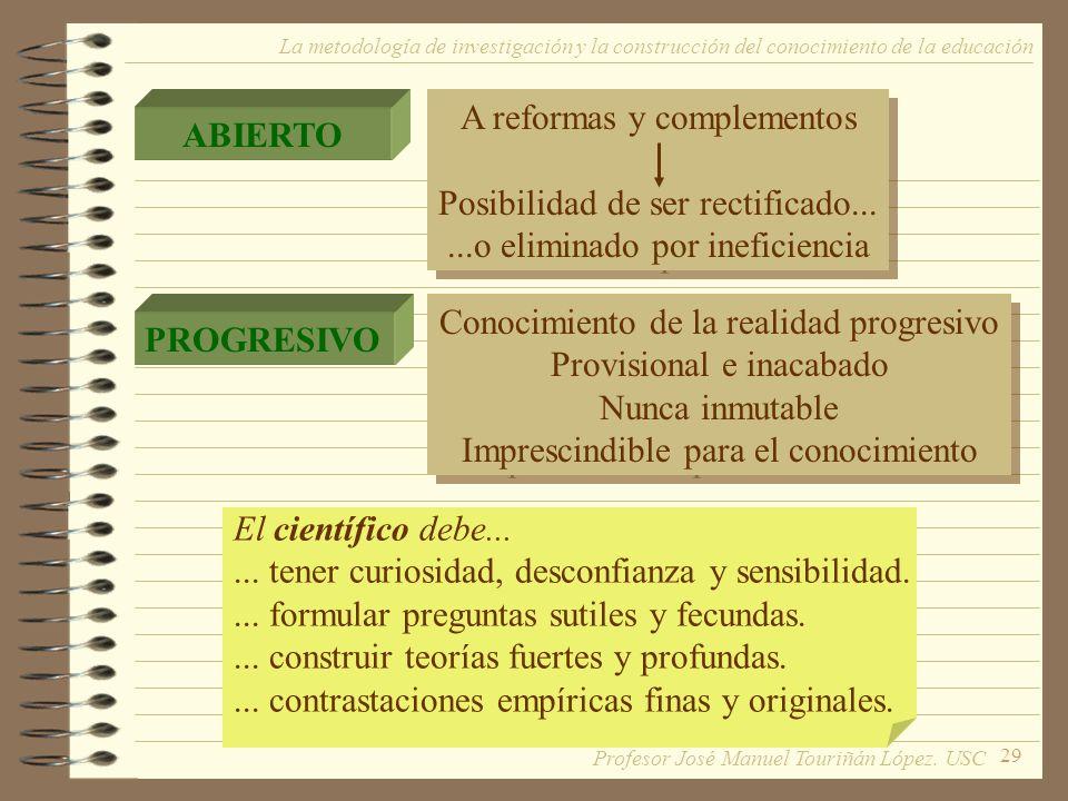A reformas y complementos Posibilidad de ser rectificado...