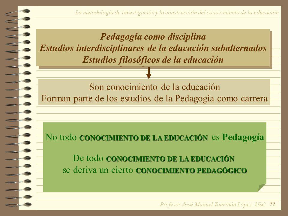 Pedagogía como disciplina