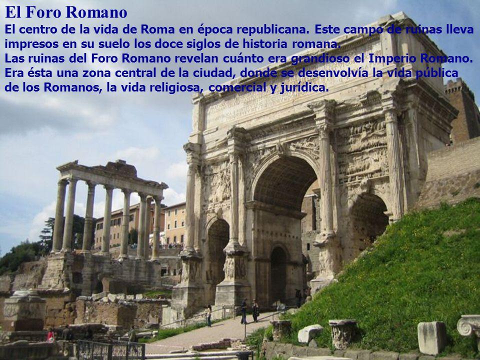 El Foro Romano Foro romano