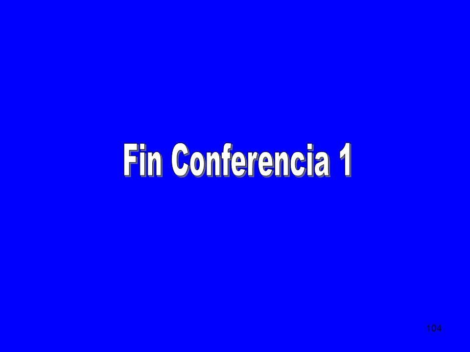Fin Conferencia 1