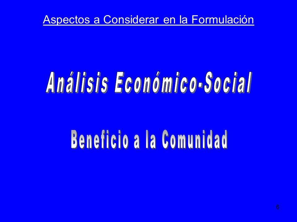 Análisis Económico-Social