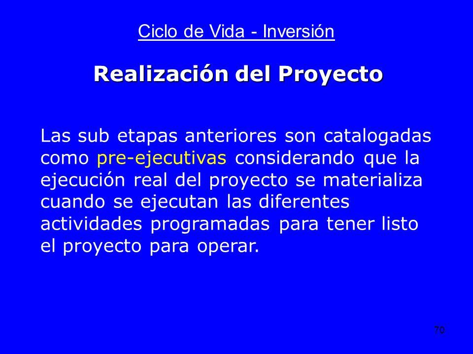 Realización del Proyecto