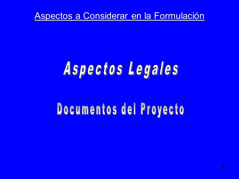 Documentos del Proyecto