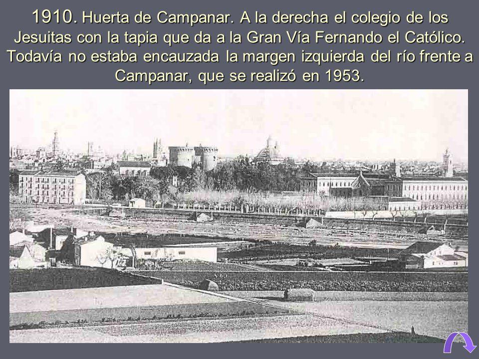 1910. Huerta de Campanar.