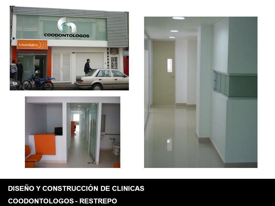 DISEÑO Y CONSTRUCCIÓN DE CLINICAS