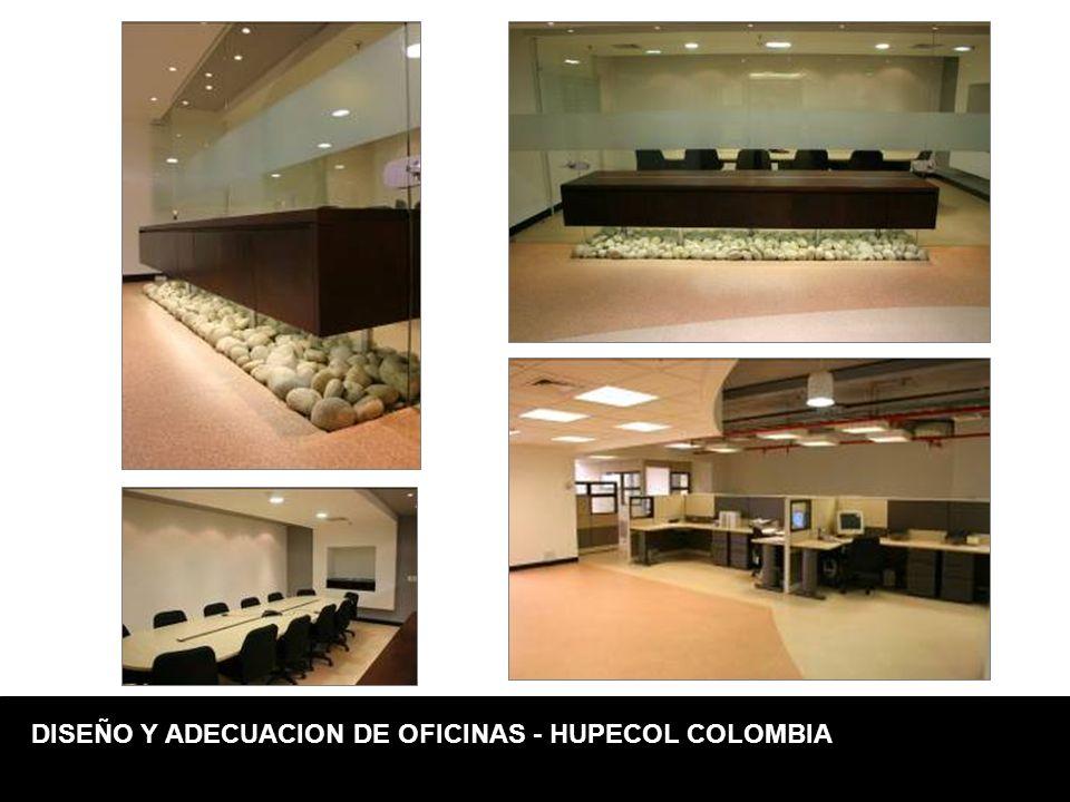 DISEÑO Y ADECUACION DE OFICINAS - HUPECOL COLOMBIA