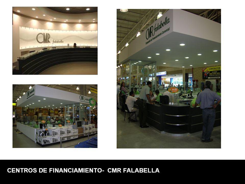 CENTROS DE FINANCIAMIENTO- CMR FALABELLA
