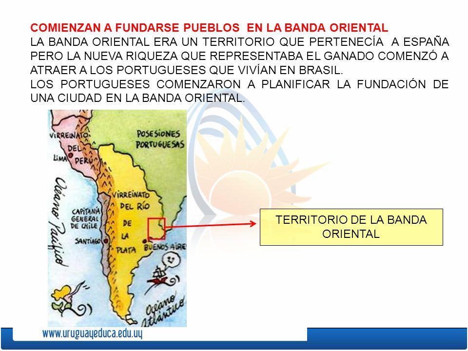 TERRITORIO DE LA BANDA ORIENTAL