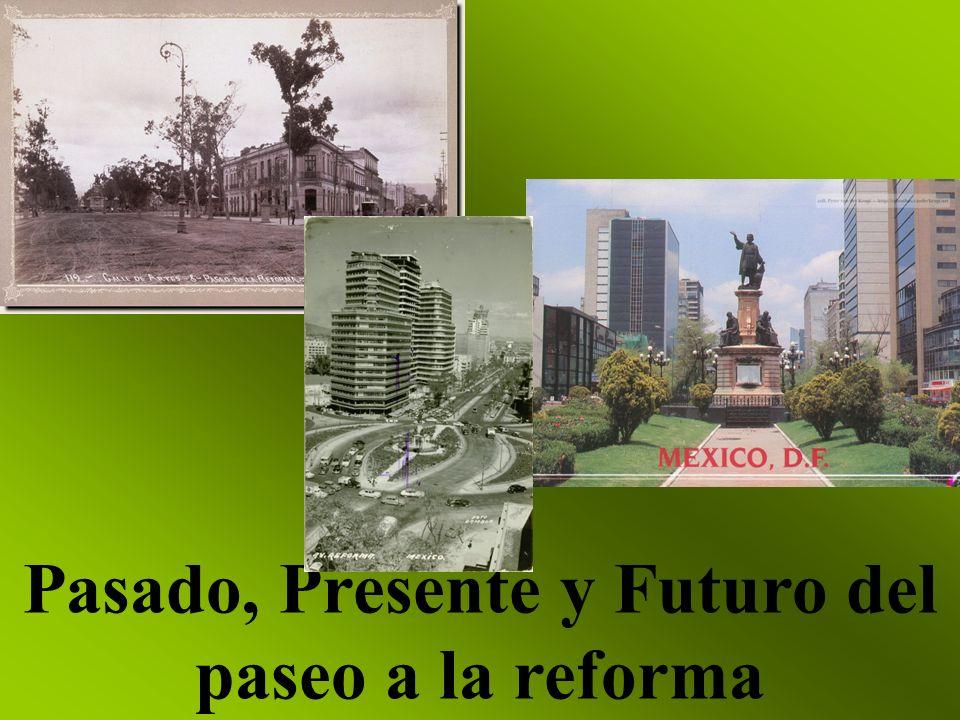 Pasado, Presente y Futuro del paseo a la reforma