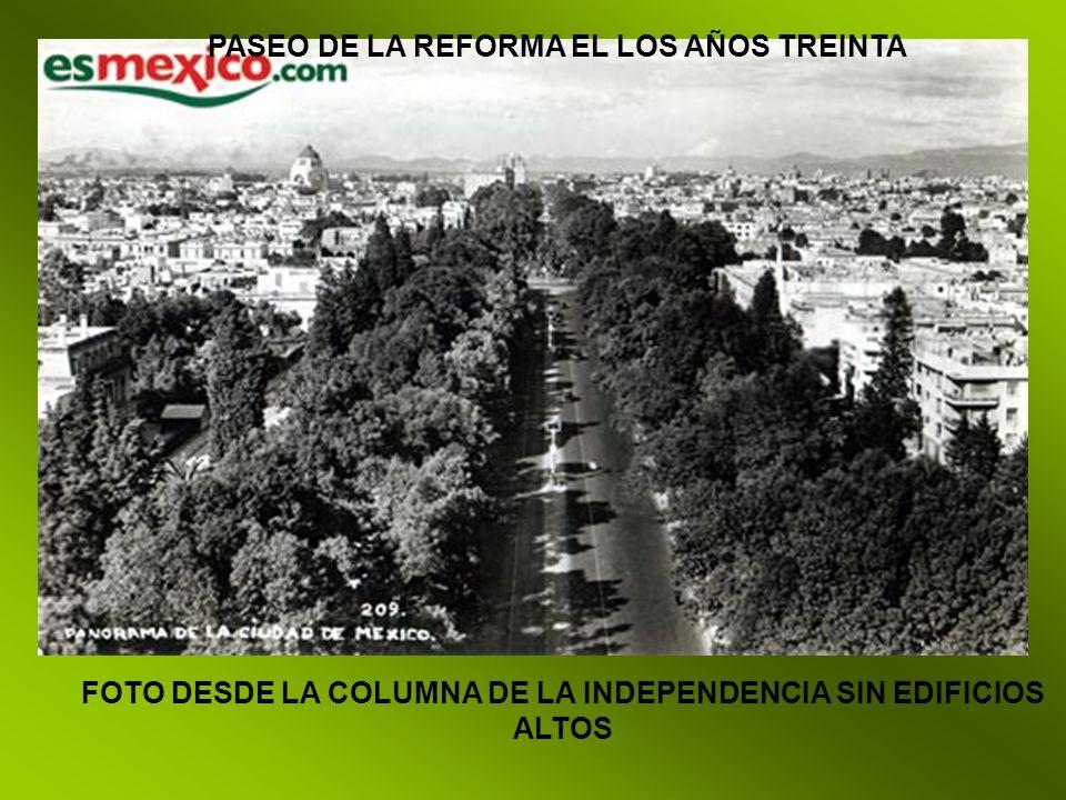 FOTO DESDE LA COLUMNA DE LA INDEPENDENCIA SIN EDIFICIOS ALTOS