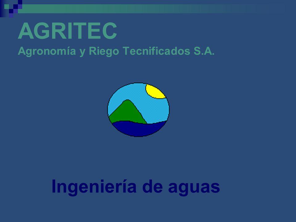 AGRITEC Agronomía y Riego Tecnificados S.A.