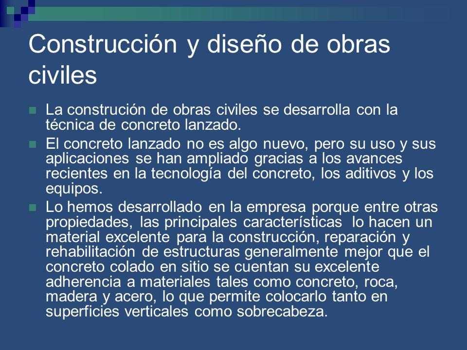 Construcción y diseño de obras civiles
