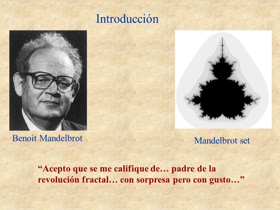 Introducción Benoit Mandelbrot Mandelbrot set