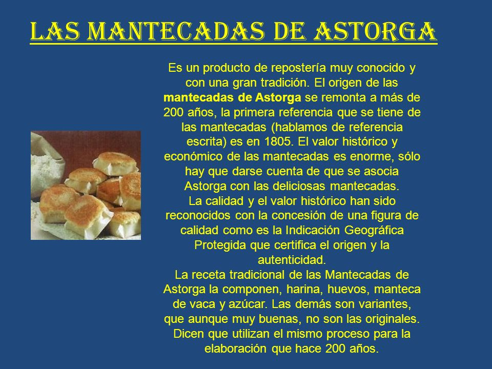 LAS MANTECADAS DE ASTORGA