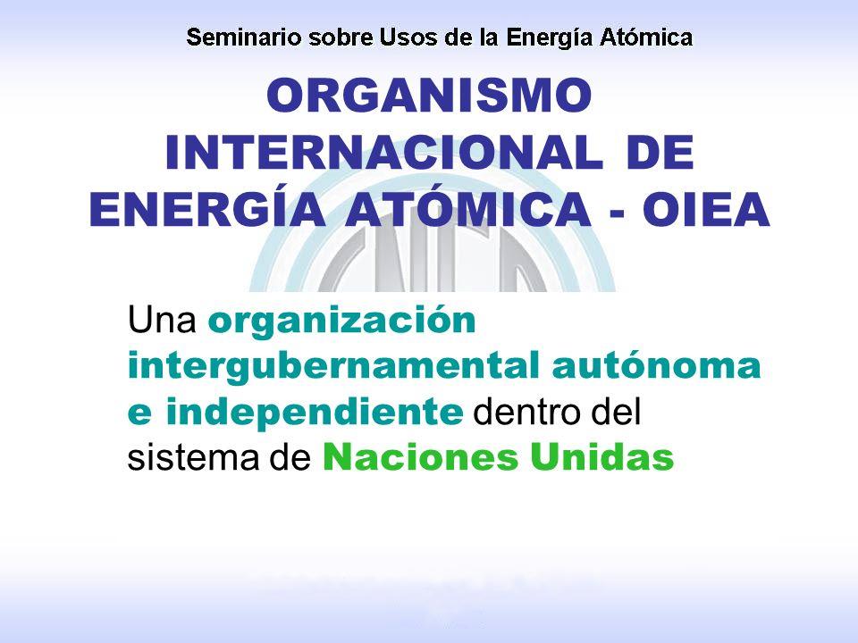 ORGANISMO INTERNACIONAL DE ENERGÍA ATÓMICA - OIEA