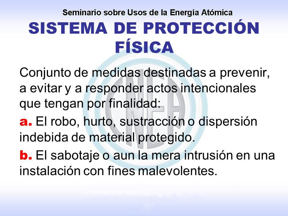 SISTEMA DE PROTECCIÓN FÍSICA