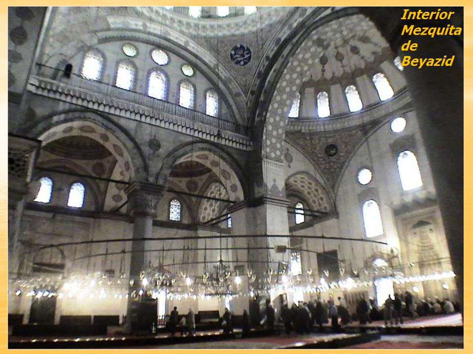 Interior Mezquita de Beyazid