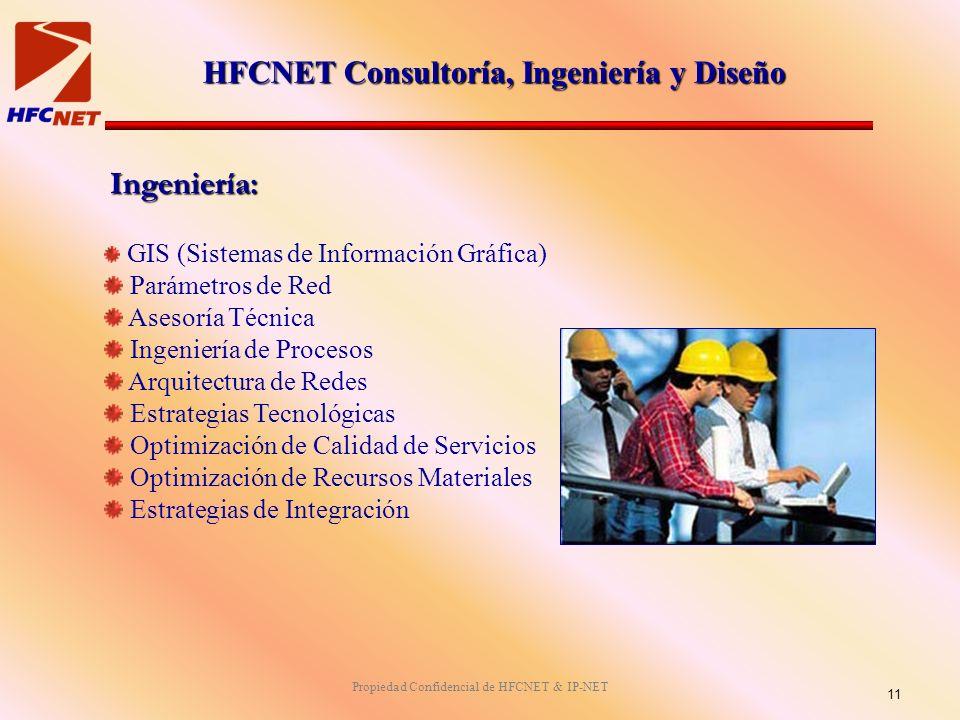 HFCNET Consultoría, Ingeniería y Diseño