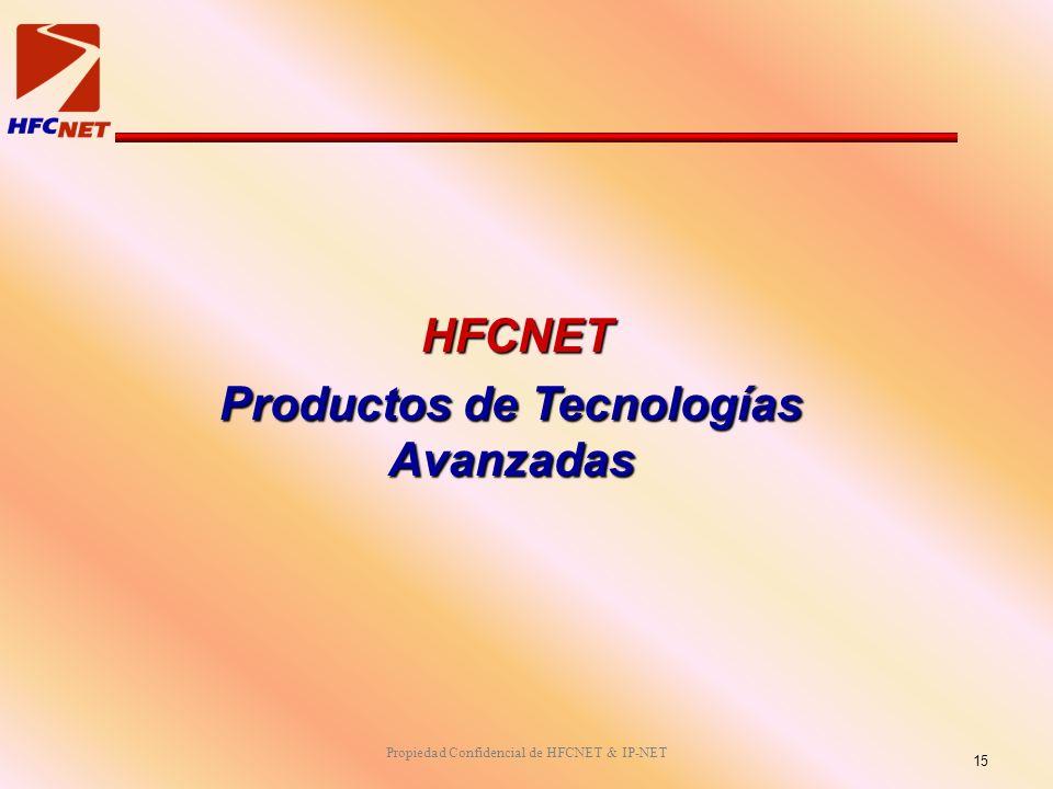 Productos de Tecnologías Avanzadas